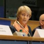 Monika Benson, Executive Director at Dystonia Europe and EFNA Board Member