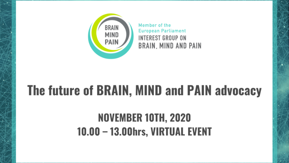 The future of brain, mind and pain advocacy, Nov 2020